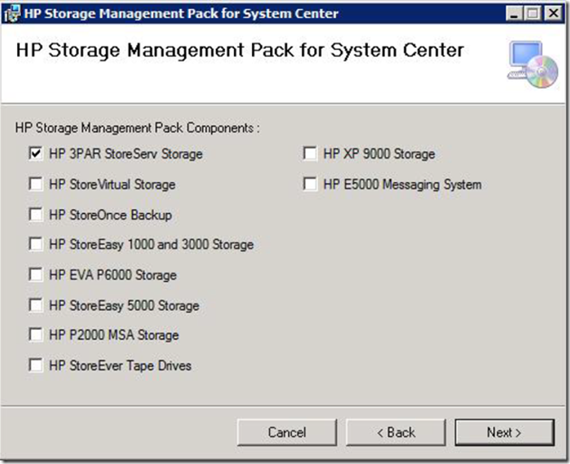 HP Storage Management Pack Updated to Version 3 0 – Review – Cloud