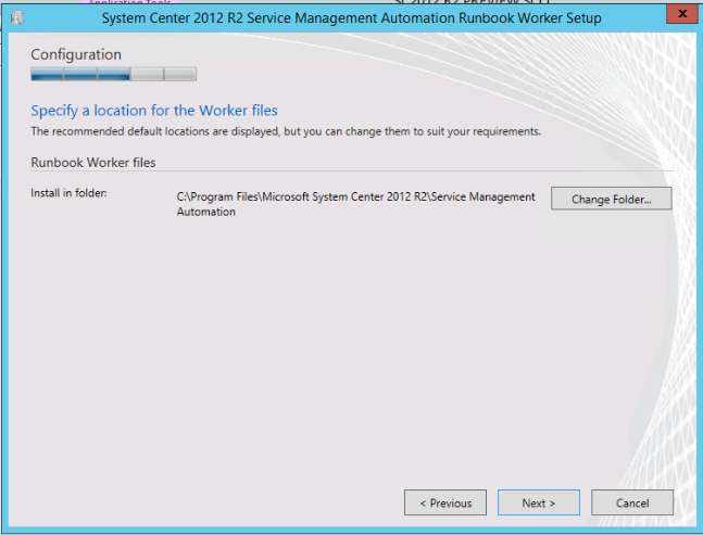 Install All System Center 2012 R2 Preview Components and