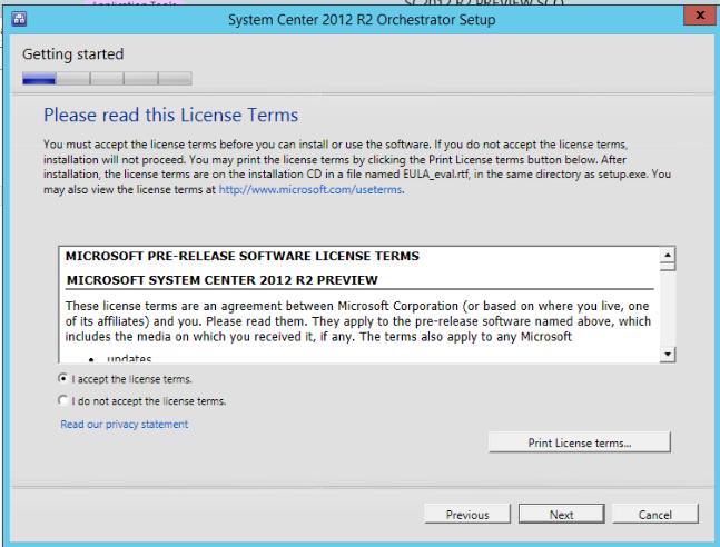 SCOrch – Cloud Administrator in Azure World