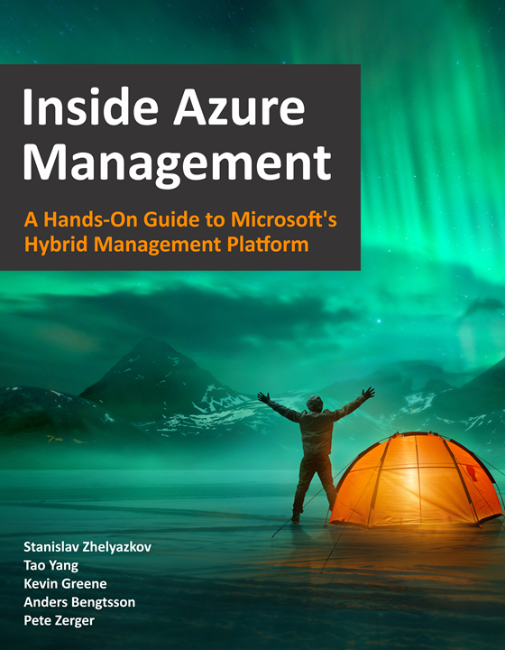 Inside Azure Management Book Cover