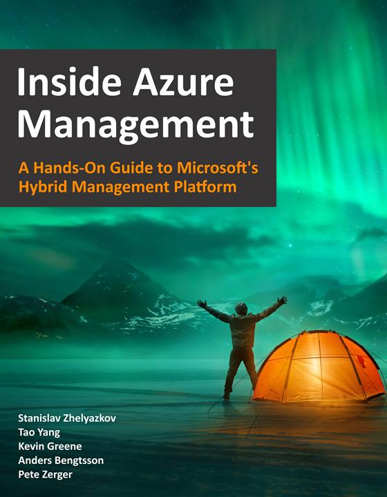 Inside Azure Management Book Cover